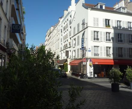 L'immeuble vue de la rue