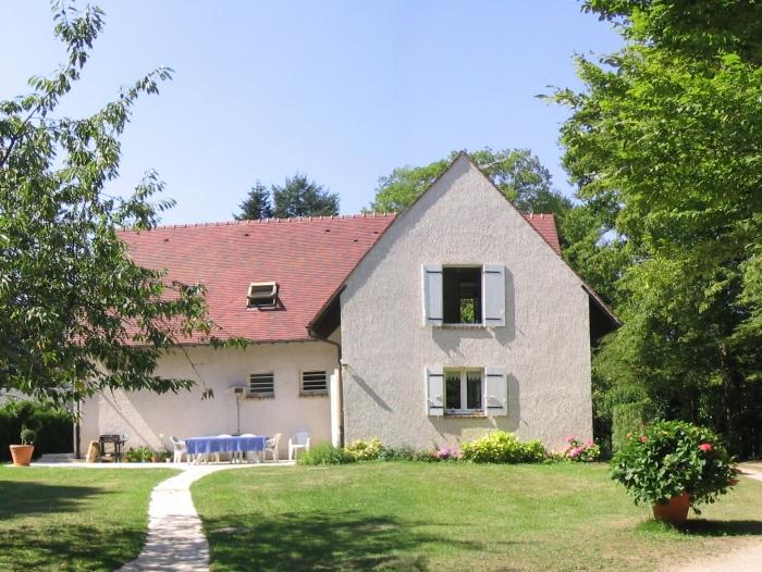 Maison avec jardin t6 louer lamorlaye 60260 quartier le lys - Location maison avec jardin ...