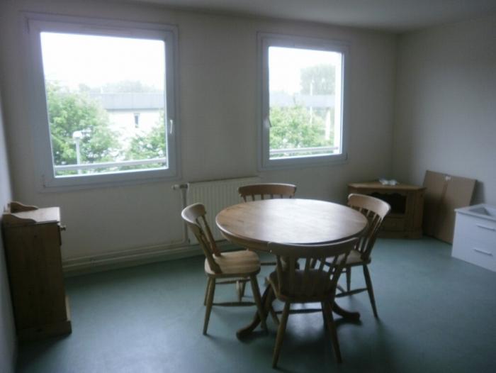 Appartement t2 louer rouen 76000 quartier chu et for Appartement meuble rouen