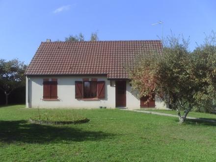 Location Maison avec jardin 5 pièces Saint-Romain-sur-Cher (41140) - Quartier calme