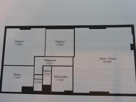 Location Appartement 3 pièces Auteuil (78770)