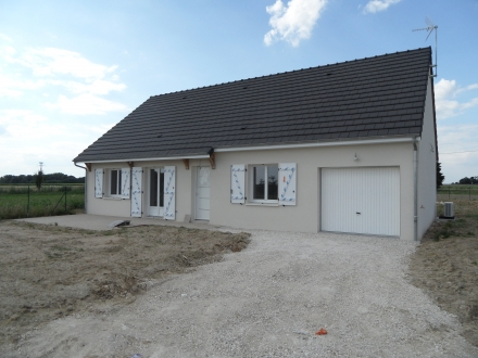 Location Maison 4 pièces Oisly (41700) - AU CALME, EN CAMPAGNE