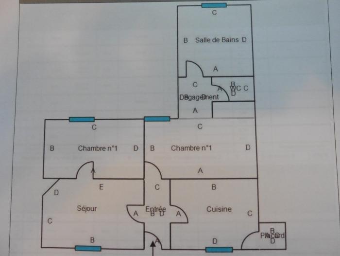 Location Appartement 3 pièces Méré (78490)