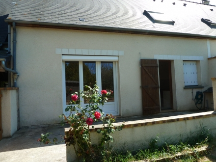 Location Maison avec jardin 5 pièces Vallères (37190)