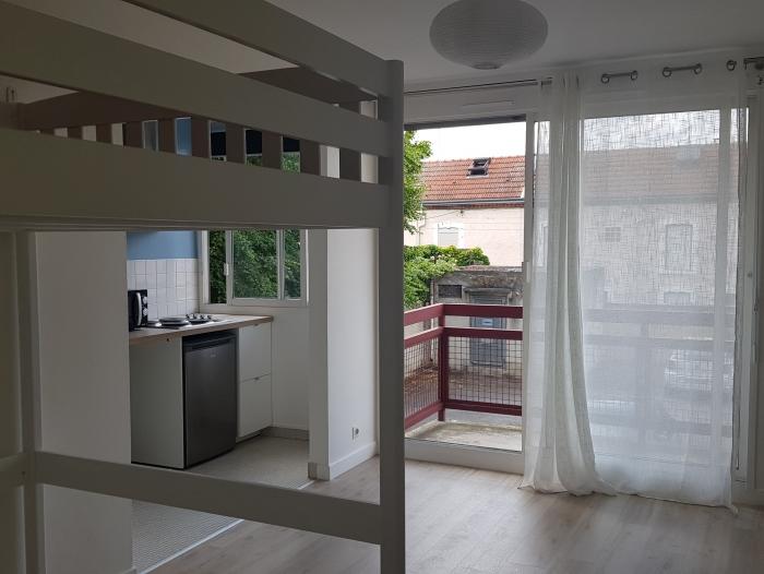 Location Studio 1 pièces Reims (51100) - 38 rue de vernouillet
