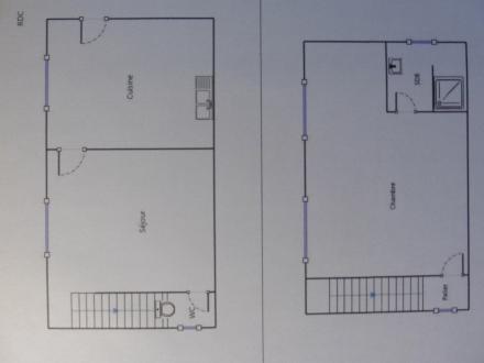 Location Maison 2 pièces Marcq (78770)