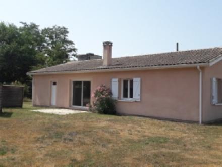 Location Maison 4 pièces Le Nizan (33430) - Quartier calme