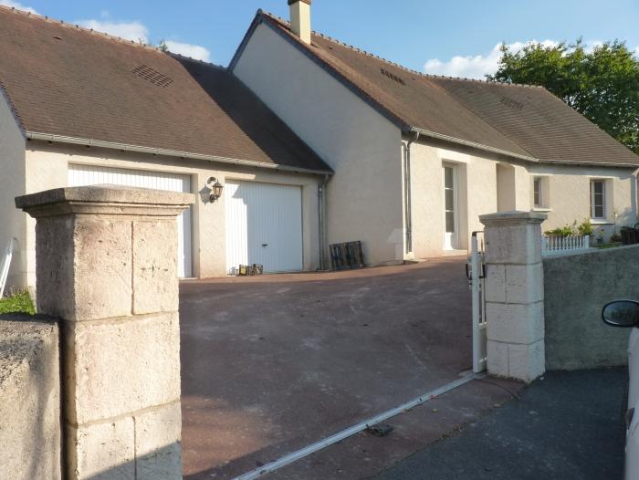 Location Maison avec jardin 4 pièces Bléré (37150)