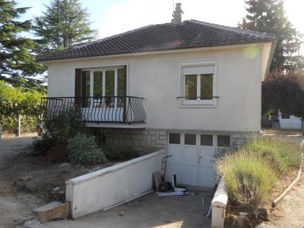 Location Maison avec jardin 4 pièces Contres (41700) - Maison rénovée