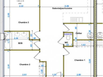 Location Appartement avec terrasse 4 pièces L'Isle-sur-la-Sorgue (84800)