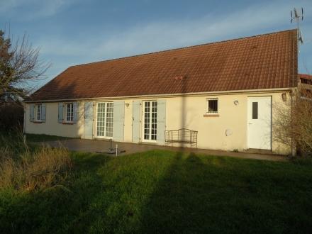 Location Maison avec jardin 5 pièces Fresnes (41700)
