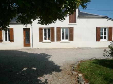 Location Maison Rénovée avec jardin 4 pièces Sambin (41120)