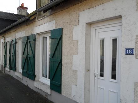 Location Maison de village 3 pièces Cour-Cheverny (41700) - avec jardin