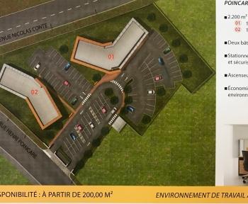 Location Bureau  pièces Chartres (28000) - Jardin d'Entreprises