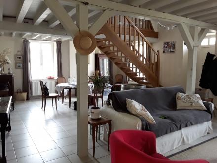 Location Maison 5 pièces Monthou-sur-Bièvre (41120) - Bourg Monthou/Bievre