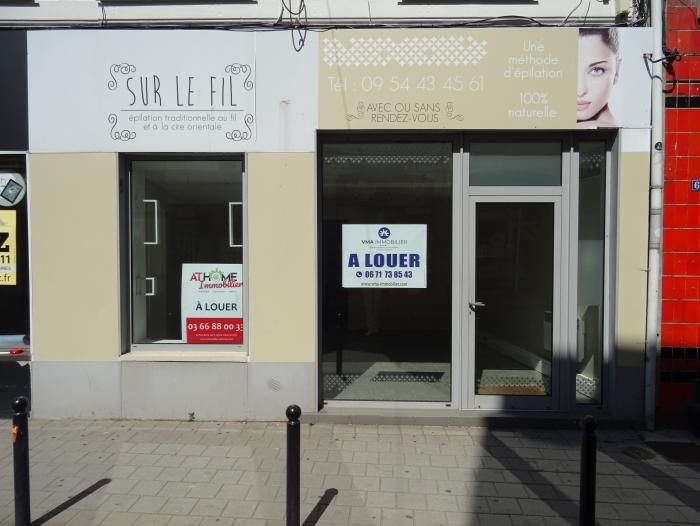 Location Local commercial 2 pièces Valenciennes () - Hyper centre