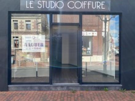 Location Local commercial 1 pièce Avesnes-les-Aubert (59129) - Hyper centre