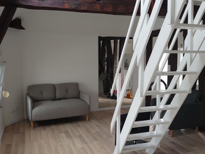 Location Appartement meublé 1 pièce Châlons-en-Champagne (51000) - centre ville
