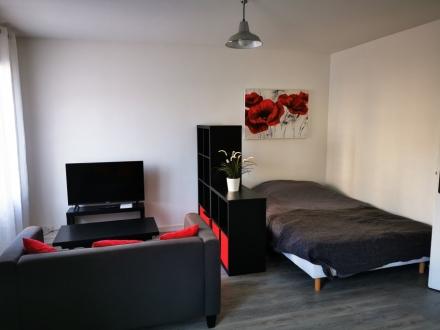 Location Studio 1 pièce Reims (51100) - laon zola