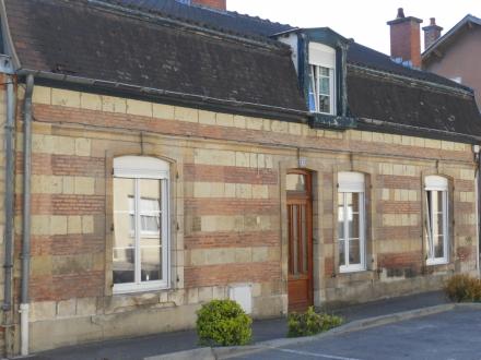 Location Maison avec jardin 7 pièces Sainte-Menehould (51800) - centre ville