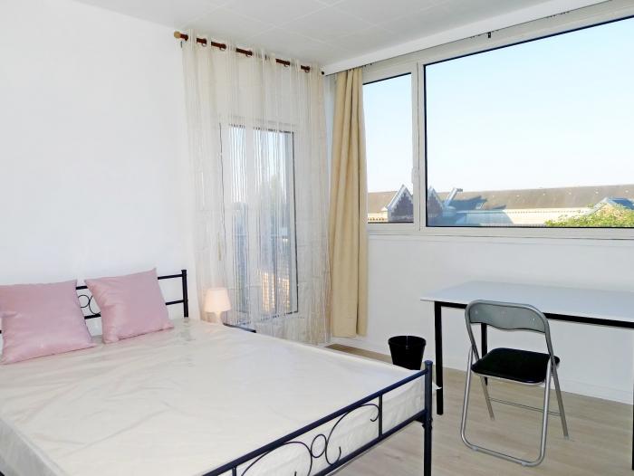 Location Appartement meublé 2 pièces Roubaix (59100) - ROUBAIX BARBIEUX